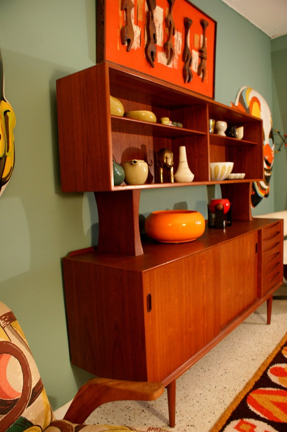 17 best images about mid century modern on pinterest mid for Living room hutch