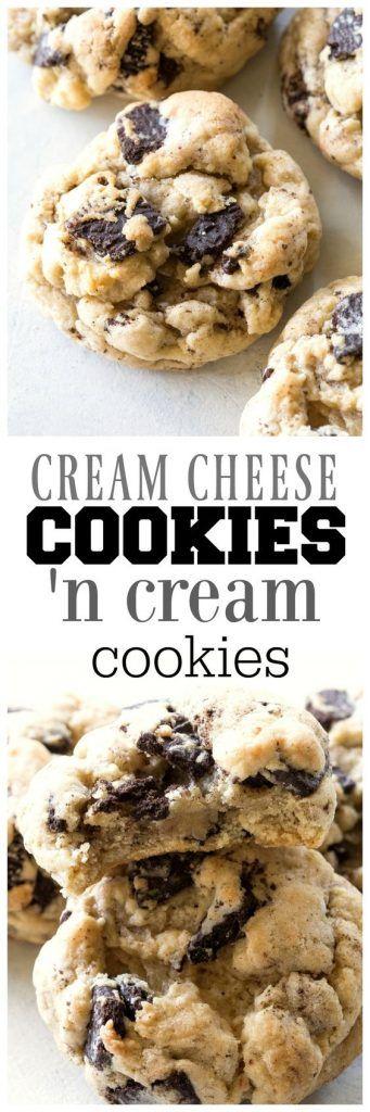 Cream Cheese Cookies 'N Cream Cookies
