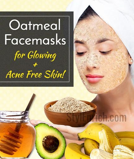Diy Charcoal Face Mask For Acne Prone Skin: Homemade Oatmeal Face Mask Recipes For Glowing And Acne
