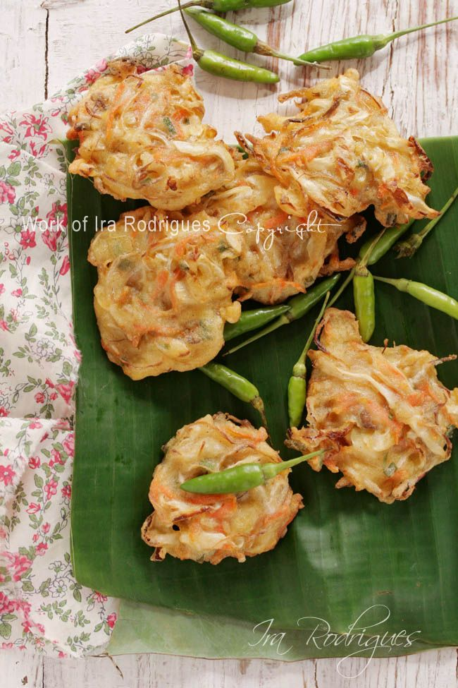 CookingTackle: Vegetable Fritter / Bala-bala (or bakwan) as Indonesian favourite deep fried snack.