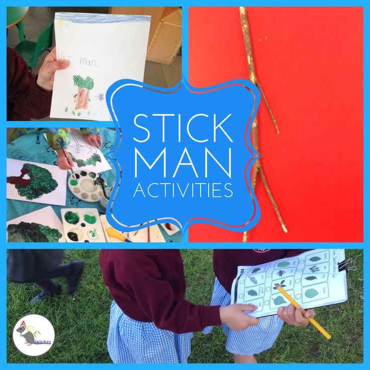 Check out what we've been up to since we found Stick Man! #eyfs #earlyyears #aceearlyyears #stickman