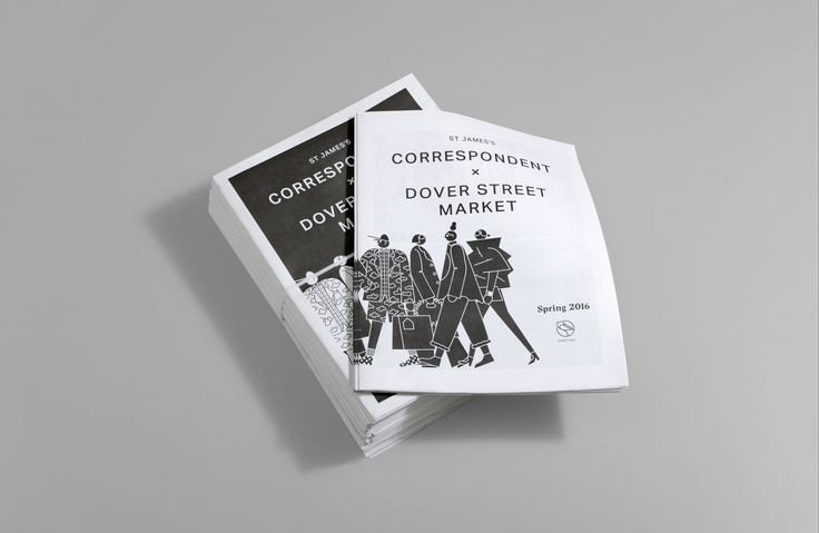 The latest issue of the Correspondent is a very special edition. Not only does Issue 12 mark three years of St James's very own newspaper, but it's also a celebration of our newest - and chicest - neighbour, Dover Street Market London.