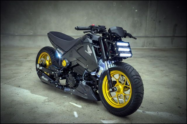 2014 Honda GROM 125 - Featured at the SEMA Show in Las Vegas in the Honda Booth!
