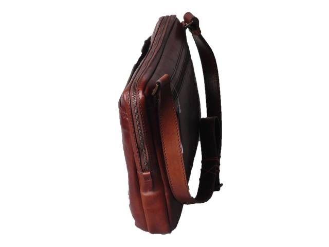 Pánské tašky | Crossbody kožená taška RICK | Kabelkovník.cz - italské kožené kabelky, dámské kabelky z umělé kůže, tašky přes rameno