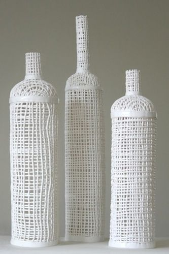 HAND BUILT OBJECTS - Niharika Hukku   I want to try something like this when my 3Doodler arrives.