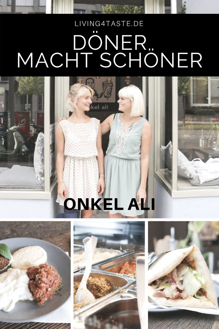 You like fresh food? We found a really nice falafel and kebab place in Munich. Onkel Ali.