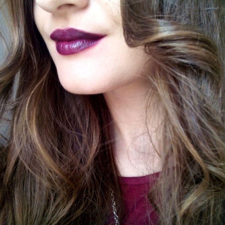 Marsala touch. Rimmel London Lipstick