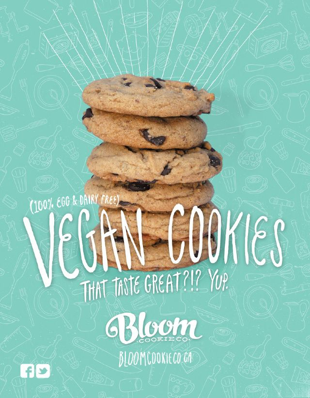 Bloom Cookie Magazine Ad - drwbnsn