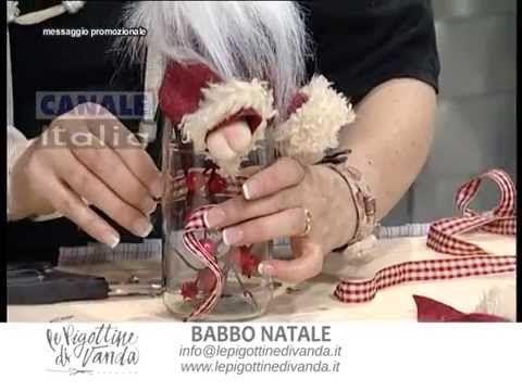 Le Pigottine di Vanda-Babbo Natale sulla Bottiglia-Video+Cartamodello