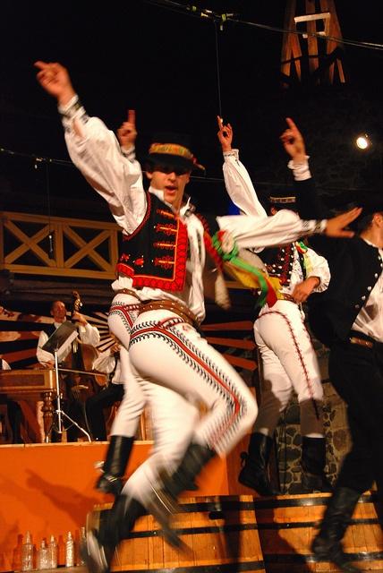 Slavic Folk Dance.                               SLUK- Dancers participates in the Slovakian folklore festival Hrusov by mr.maros, via Flickr