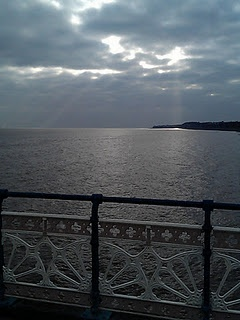 View from Penarth Pier.