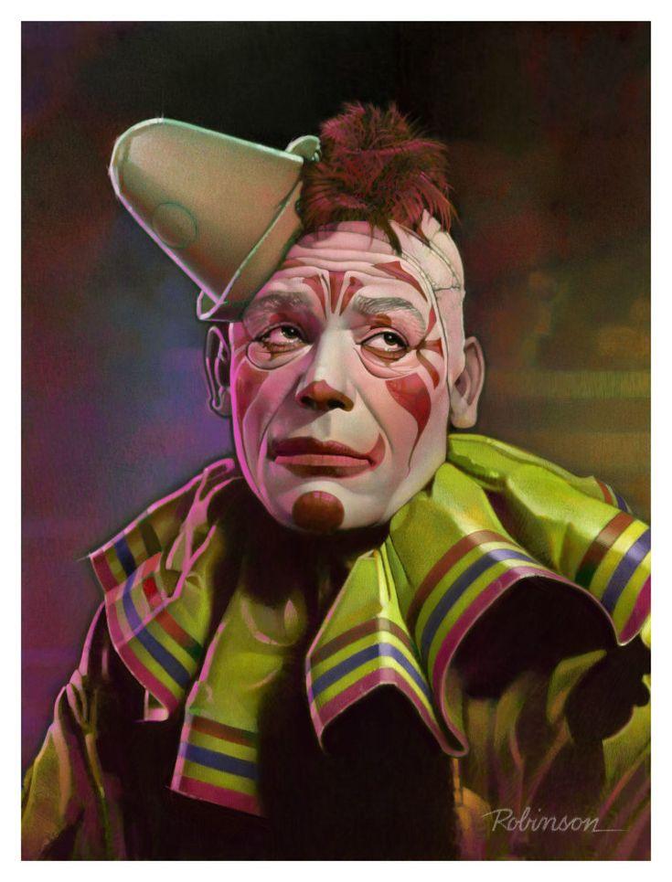 "Lon Chaney Sr. as Tito the Clown in ""Laugh, Clown, Laugh (1925)"