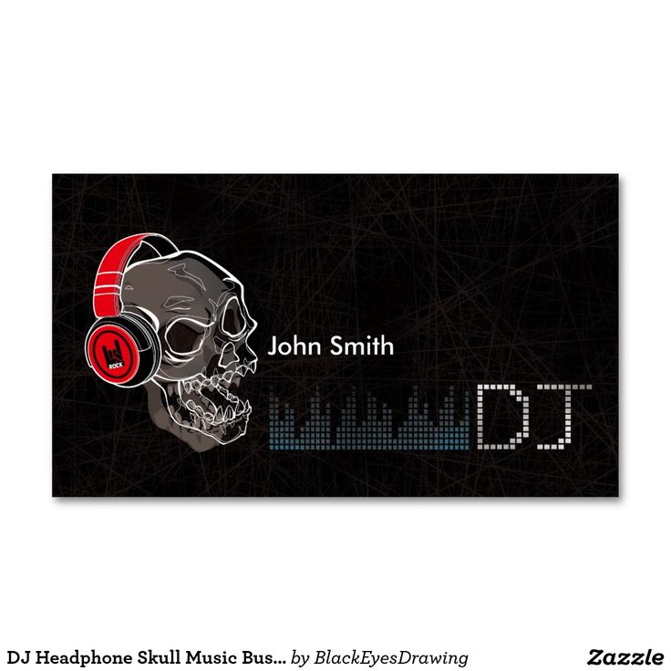23 best Dj business cards images on Pinterest | Dj music ...