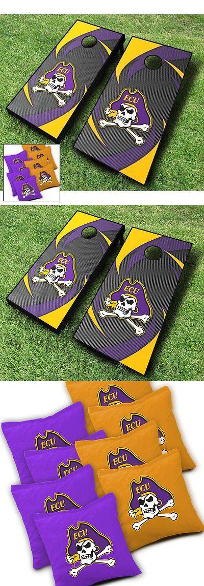 Cornhole Bag Toss 79791: East Carolina Pirates Swoosh Cornhole Wraps Board Set + 8 Aca Regulation Bags -> BUY IT NOW ONLY: $199.9 on eBay!