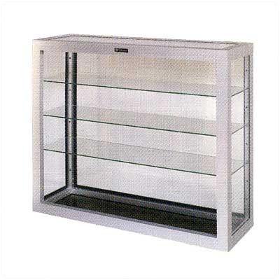 Claridge Products Wall Mounted Display Case Finish: