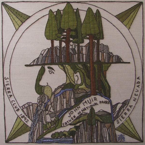 US21 - John Muir: Sierra Nevada - The Scottish Diaspora Tapestry