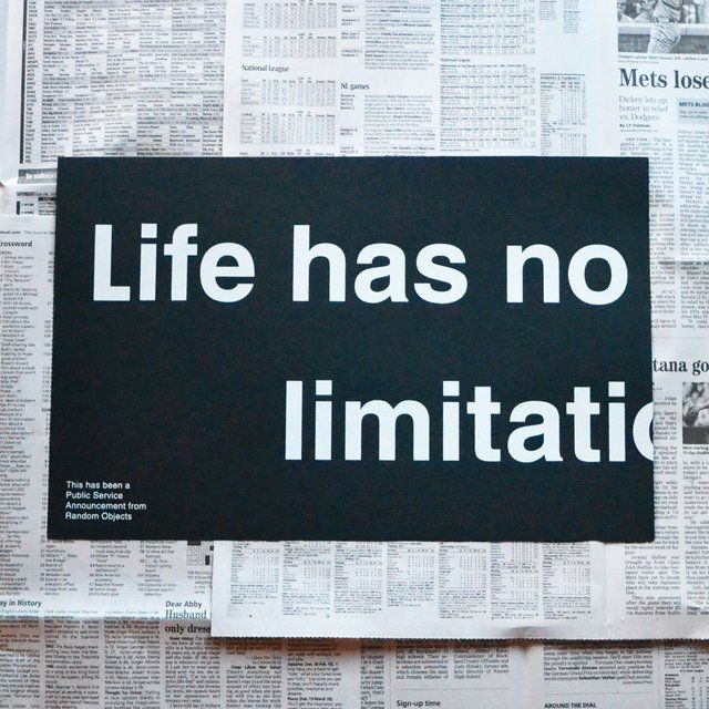 Fancy - No Limitations Print