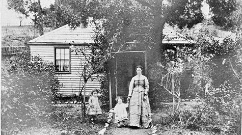 'Little Bendigo', Ballarat, Victoria, 1876