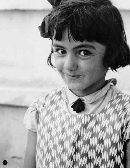 "Zofia Rydet photograph of the ""little man"", Albania, 1960"
