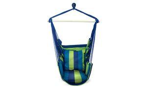 Groupon - Sorbus Hanging Rope Hammock Chair Swing Seat. Groupon deal price: $34.99