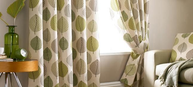 Regan Leaf Curtains Dunelm Mill Extension Pinterest