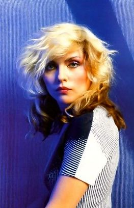 Portrait of American singer and Blondie frontwoman Debbie Harry, United States, 1978, photograph by Mick Rock.