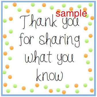 Printable Teacher Appreciation Tags. Thank you for sharing what you know.  This listing is for one (1) DIY printable, non-editable PDF file containing 7 tags, (Three 2x2in and Four 4x4in) like the one in the photo above. File will be available for immediate download after you have completed your purchase. is designed to be cut as a square tag. Easily cut with a pair of scissors. Make your very own adorable tags to attach to favors or gifts for your bilingual or Spanish teachers. Punch a…