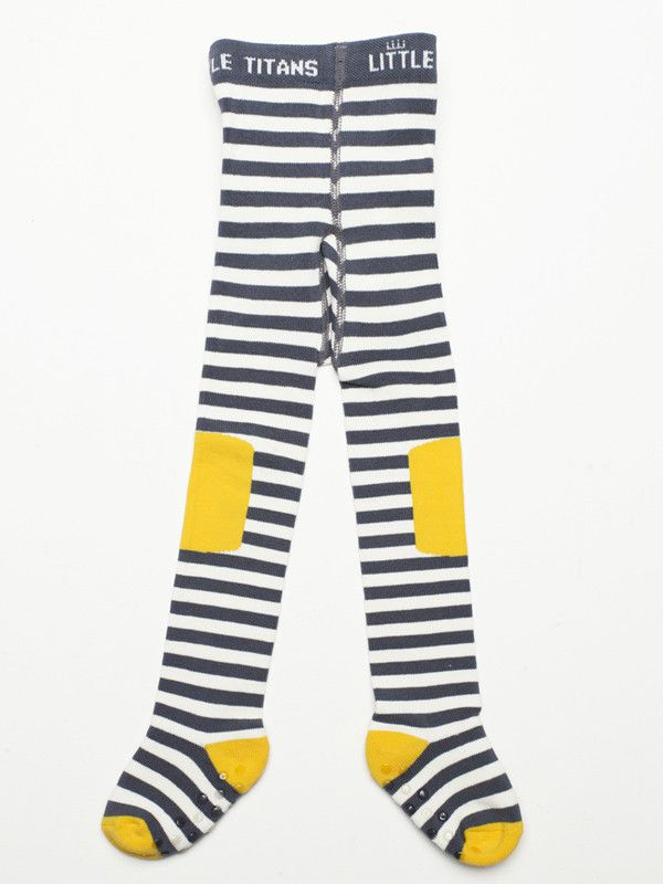 Stripe Grey Titans- Tights for boys- perfect for chilly days- under pants!