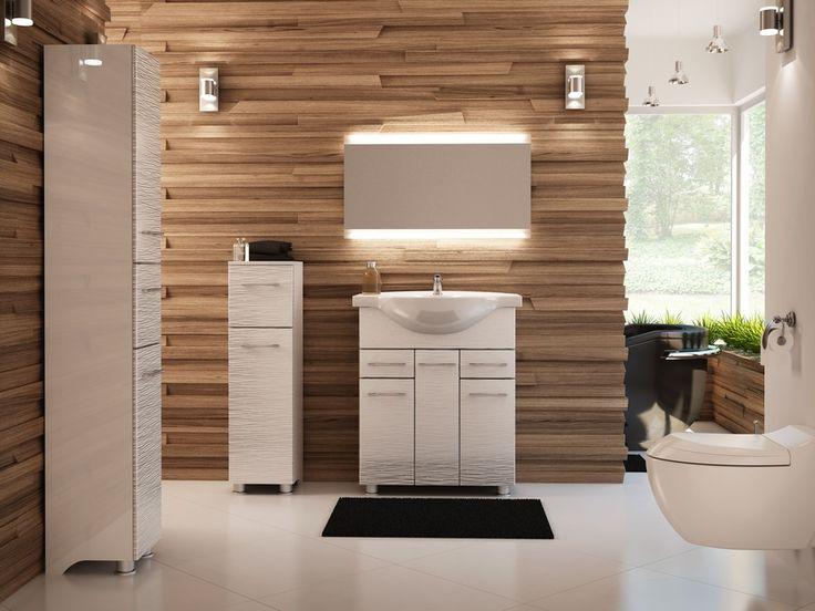 Meble łazienkowe nowoczesne NOVELLA (NBF)