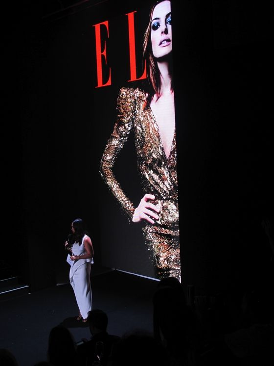 Elle Australia editor Justine Cullen at the magazines launch at MBFWA 2013