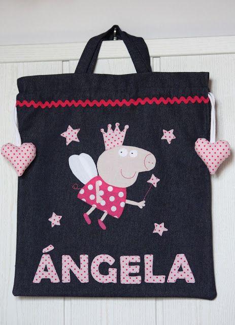 Bolsa de merienda para Ángela