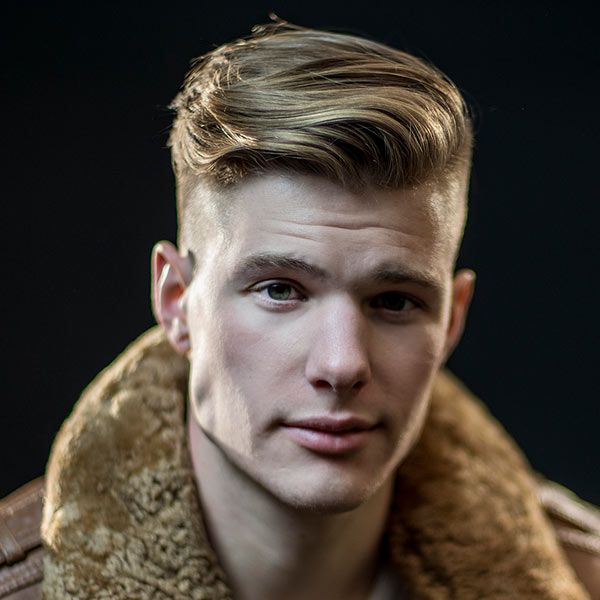 Types Of Men's Haircuts - The Disconnected Undercut