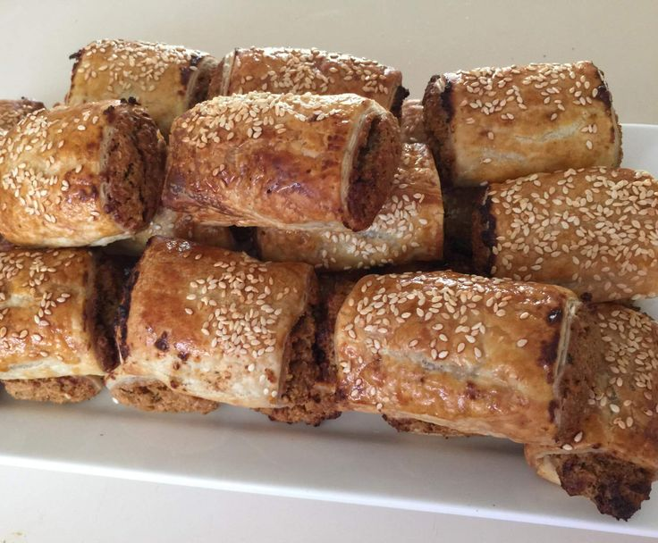 Recipe Sally's Vegetarian Sausage Rolls (Tastes Like Meat) by sal2125 - Recipe of category Main dishes - vegetarian