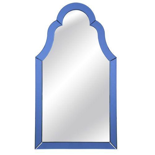 Bassett Mirror Cobalt Blue Wall Mirror