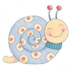Dibujo de caracoles para imprimir-Imagenes y dibujos para imprimir