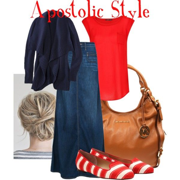 Apostolic Style             DIFFERENT SHOES