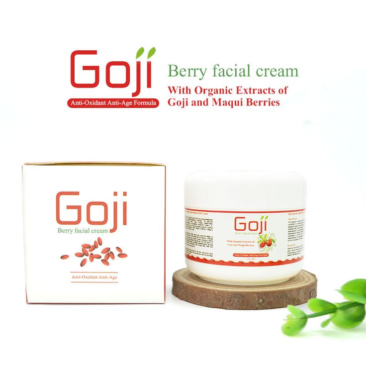 100g lanthome New Goji berry unisex facial moisturizing and anti age cream chinese skin care product remove deep wrinkle line