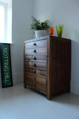 Single Rustic Pine Storage Cupboard  from Out There Interiors