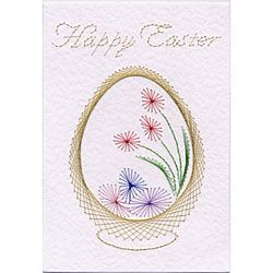 Stitching Cards Easter Basket