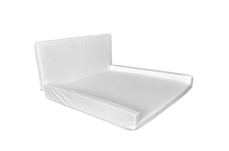 Kindermöbel: Wickelauflage für unsere Wand-Wickeltisch  Farbe: weiß  Schaumstoff mit Kunstlederbezug  abwaschbar
