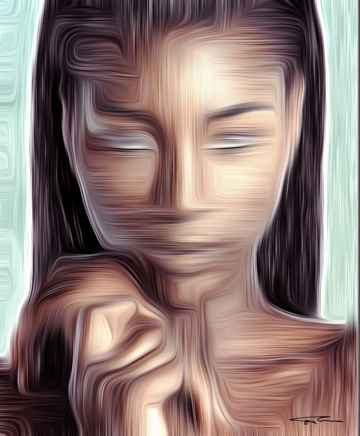 """Name: Silence of Africa Author: Erik Teodoru ID number: 154 Year: 2017 Software Tool: Gimp 2.8.20   Model: Naoumie Ekiko Original Source Image: Internet photo Project: """"Feelings, Motions and Emotions"""""""