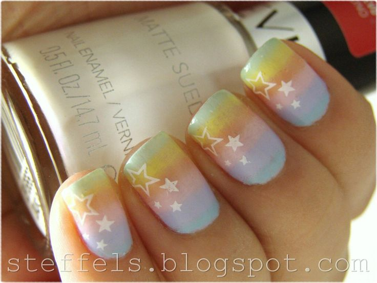 steffels.: Pastel rainbow gradient