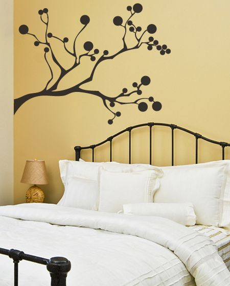 This tree wall decal bloomed once on an April spring and will now stay bloomed for evermore on your wall. It goes well in modern, contemporary and eclectic homes. To make it more about you, the branches on this wall decal come in parts that can be rearrange to your liking.