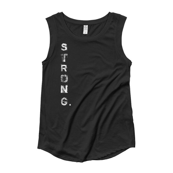 Strong Avenging Angel Sleeveless – Powerlifting Women