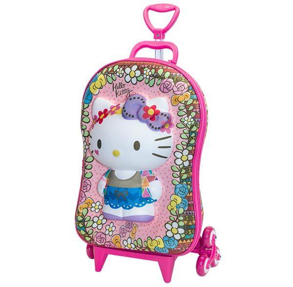 Hello Kitty | MaxToy Diplomata - Mochilas escolares