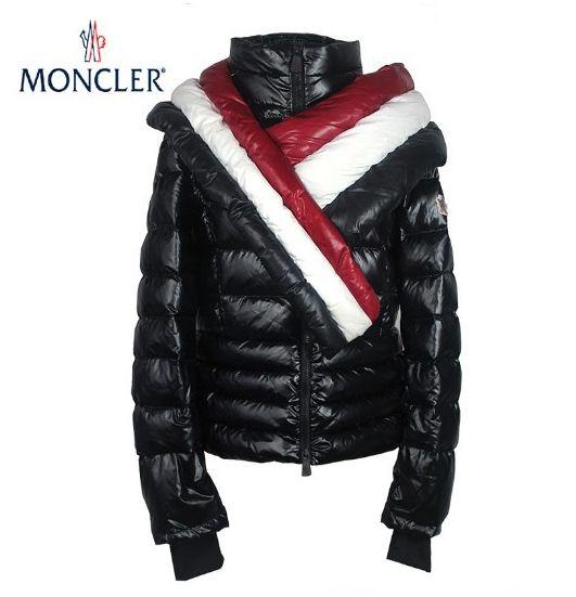 Jacken Damen Moncler Mode Schwarz Moncler Jacke