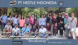 PT Nestle Indonesia at Pulau Seribu | Thousand Islands #pulauseribu