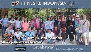 PT Nestle Indonesia at Pulau Seribu | Thousand Islands #pulauseribu