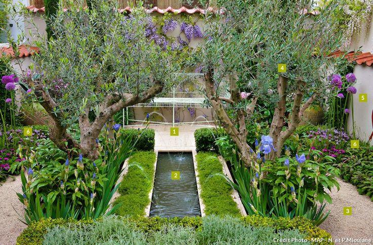 444 best jardin shabby romantique images on pinterest for Amenagement jardin romantique
