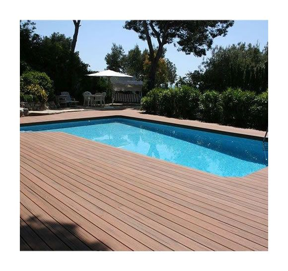 Kit Complet 10 M Terrasse Composite Chocolat Green
